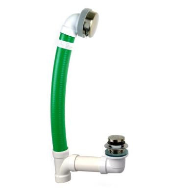 Innovator Flex924 24 in. x 1.5 in. Flexible Bath Waste with Foot Actuated Stopper and Innovator Overflow