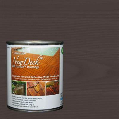 1 qt. Water-Based Black Walnut Infrared Reflective Wood Stain