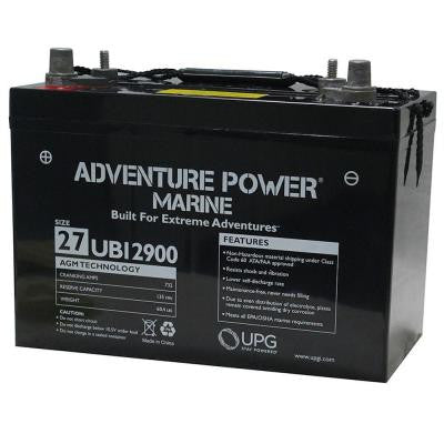 Series 27, 12-Volt Marine Post Battery