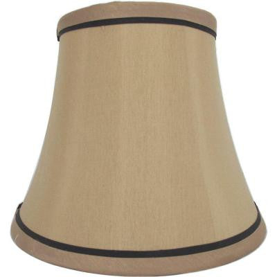 Mix & Match White Trim Round Bell Accent Shade