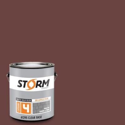 Category 4 1 gal. Rusty Anchor Matte Exterior Wood Siding 100% Acrylic Latex Stain