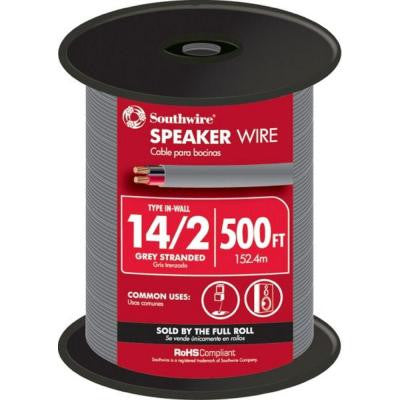 14-2 In-Wall Speaker Wire (By-the-Foot)