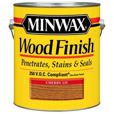 1 gal. Cherry Wood Finish 250 VOC Oil-Based Interior Stain (2-Pack)