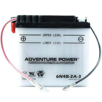 Conventional Wet Pack 6-Volt 4 Ah Capacity O Terminal Battery