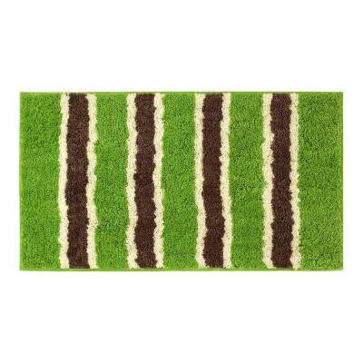 Ace Lime 18 in. x 30 in. Bath Rug