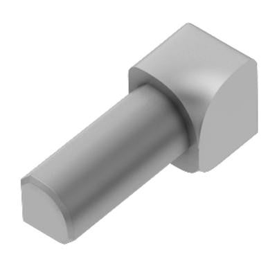 Rondec Satin Anodized Aluminum 1/4 in. x 1 in. Metal 90 Degree Inside Corner