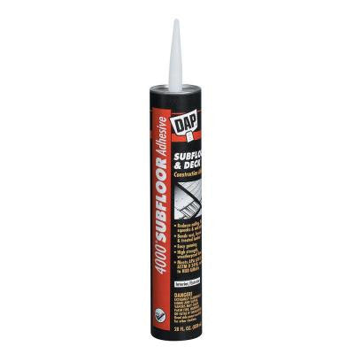4000 28 oz. Subfloor and Deck Adhesive (12-Pack)