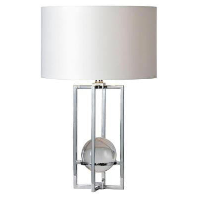 Rohdes 24 in. Chrome Table Lamp