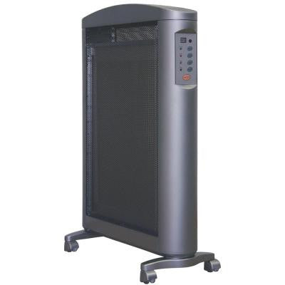 1,500-Watt Flat Panel Micathermic Portable Electric Heater with Remote Control