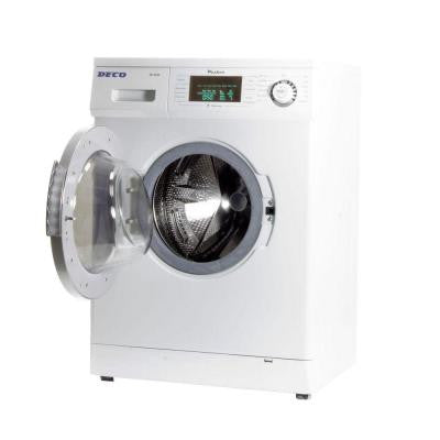 13 lb. Trim Washer in White with Silver