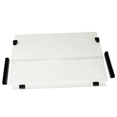 Clear Folding 3/16 in. Thick Polycarbonate Windshield Fits