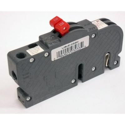 Thin 20-Amp Double-Pole Type Z Circuit Breaker