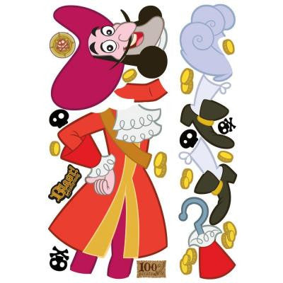 Jake and the Neverland Captain Hook Giant Peel and Stick Wall Decals