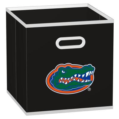 College Storeits University of Florida 10-1/2 in. x 11 in. Black Fabric Storage Drawer