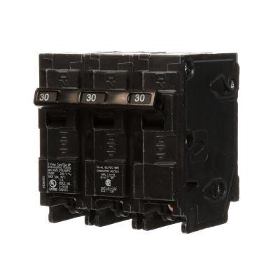 30 Amp Three-Pole Type QP Circuit Breaker