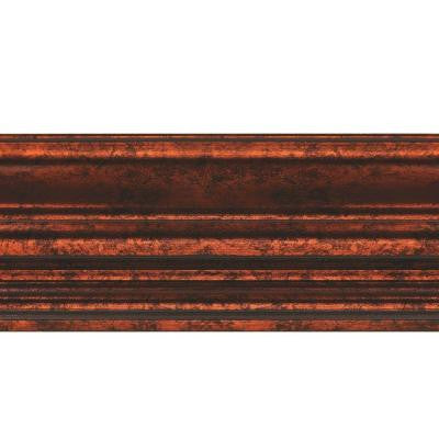 Classic 0.75 in. x 6.125 in. x 96 in. Wood Ceiling Crown Molding in Moonstone Copper