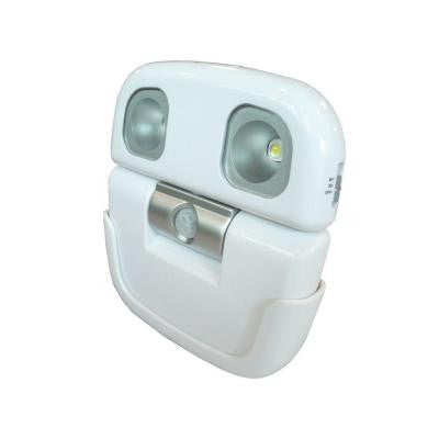 High Output LED White Security Light with Motion Sensor