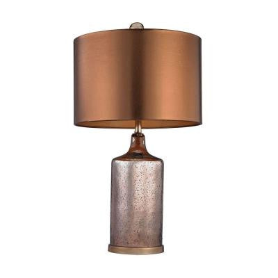 Orly 26.5 in. Antique Copper Table Lamp with Shade