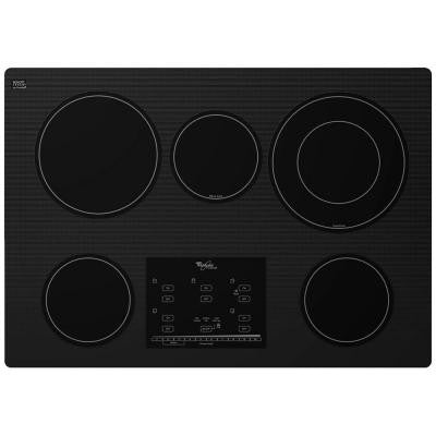 Gold 30 in. Radiant Electric Cooktop in Black with 5 Elements including AccuSimmer Plus Element
