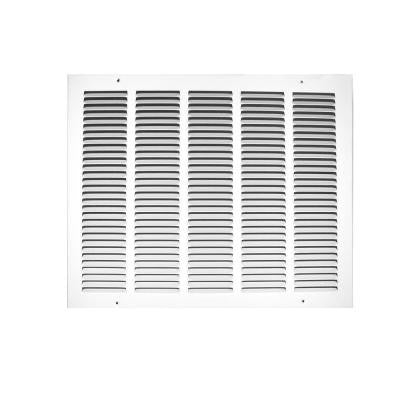 20 in. x 12 in. White Return Air Grille