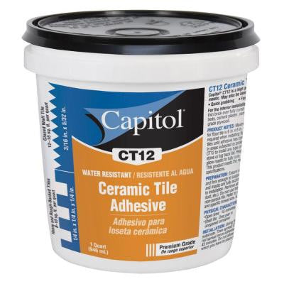 1-qt. High Performance Ceramic Tile Adhesive and Mastic