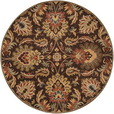 John Brown 6 ft. Round Area Rug