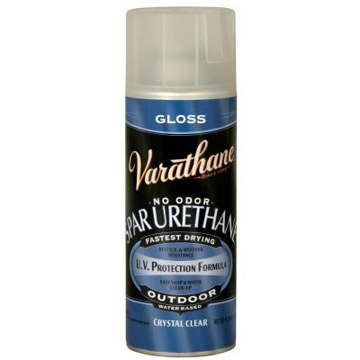 11.25 oz. Clear Gloss Spar Urethane Spray Paint (Case of 6)