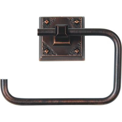 American Arts and Crafts Collection Single Post Toilet Paper Holder in Venetian Bronze
