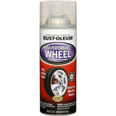12 oz. High Performance Wheel Clear Spray (6-Pack)
