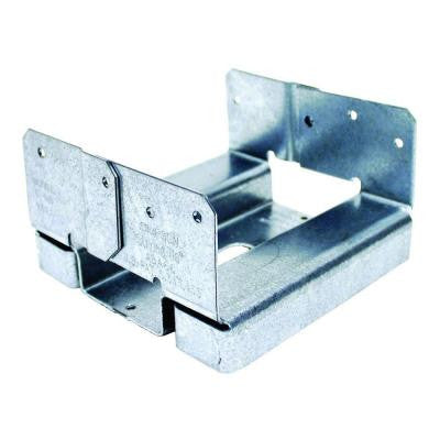 ABA 6x6 ZMAX Galvanized Adjustable Post Base