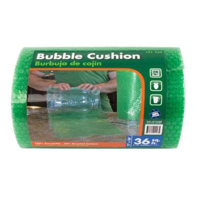 3/16 in. x 12 in. x 36 ft. Bubble Cushion