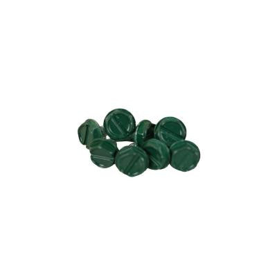 Grecian Green Steel Sheet Metal Screw (8-Pack)