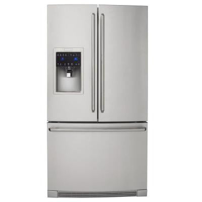 IQ-Touch 21.93 cu. ft. French Door Refrigerator in Stainless Steel, Counter Depth