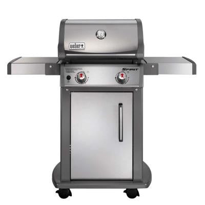 Spirit S-210 2-Burner Stainless Steel Propane Gas Grill