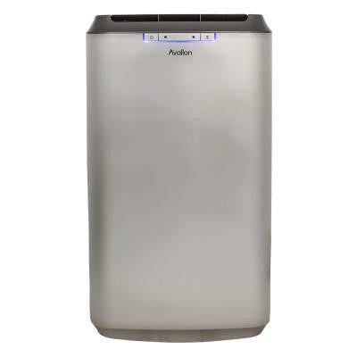 12,000 BTU Dual Hose Portable Air Conditioner with InvisiMist Smart Drain Technology