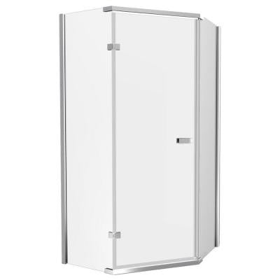 35-7/8 in. x 35-7/8 in. x 71-7/8 in. Semi-Frameless Neo Angle Shower Enclosure
