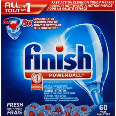 0.7 oz. Powerball Dishwasher Tablets (60-Count)