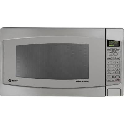 Profile 2.2 cu. ft. Countertop Microwave in Stainless Steel