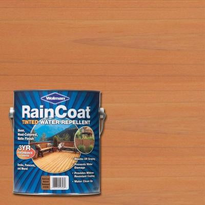1 gal. Raincoat Tinted Natural Redwood Water Repellent Sealer (Case of 4)