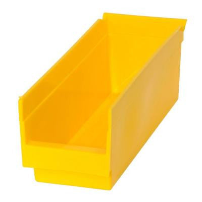 .83-Gal Heavy Duty Plastic Storage Bin in Yellow (48-Pack)