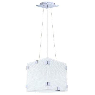 Alea 1-Light Chrome Ceiling Pendant