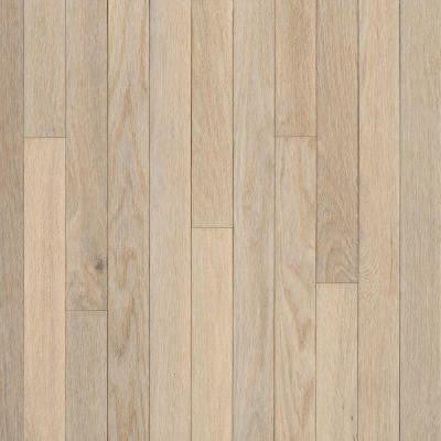 American Originals Sugar White Oak 3/4 in. Thick x 5 in. Wide x Random Length Solid Hardwood Flooring (23.5 sq.ft./case)