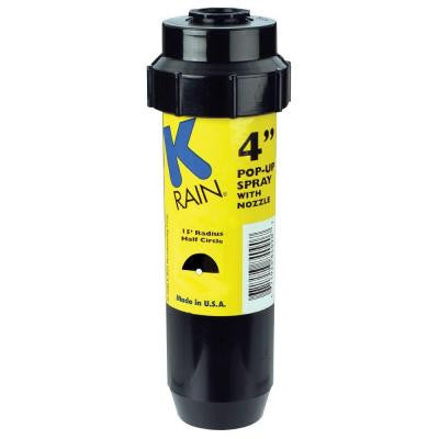4 in. KSpray Pop-Up Sprinkler 1/2 Circle Pattern Nozzle