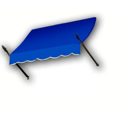 35 ft. New Orleans Awning (44 in. H x 24 in. D) in Bright Blue