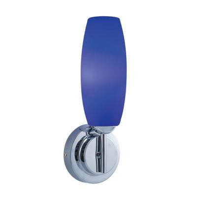 1-Light Low-Voltage Blue Companion Wall Sconce