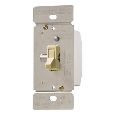 Trace 3-Way Single-Pole Toggle Dimmer - Ivory