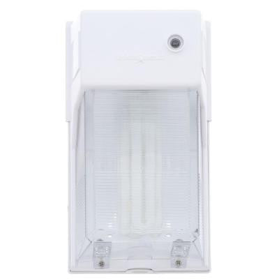 42-Watt Fluorescent Wall Fixture, White