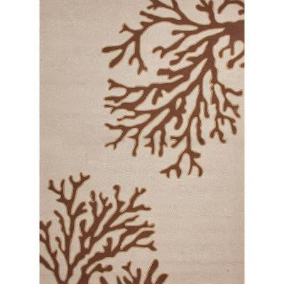 Reef Oyster Gray 5 ft. x 7 ft. 6 in. Conversational Area Rug