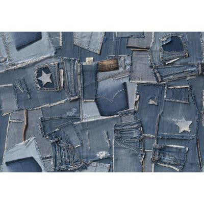 100 in. x 145 in. Jeans Wall Mural