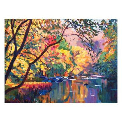 24 in. x 32 in. Color Reflections Canvas Art